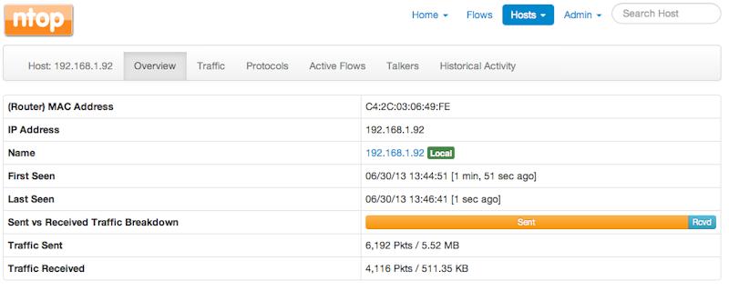 netzwerkanalyse-webinterface-server-pc-hostinfo