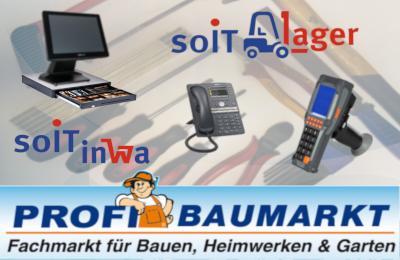 Profi Baumarkt IT Neuaustattund durch die soIT GmbH